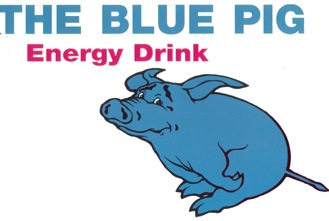 Blue Pig