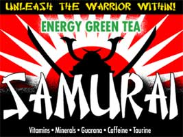 Samurai Energy Tea