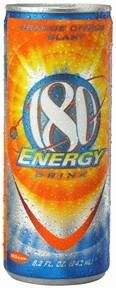 180 Energy Drink: Newer can