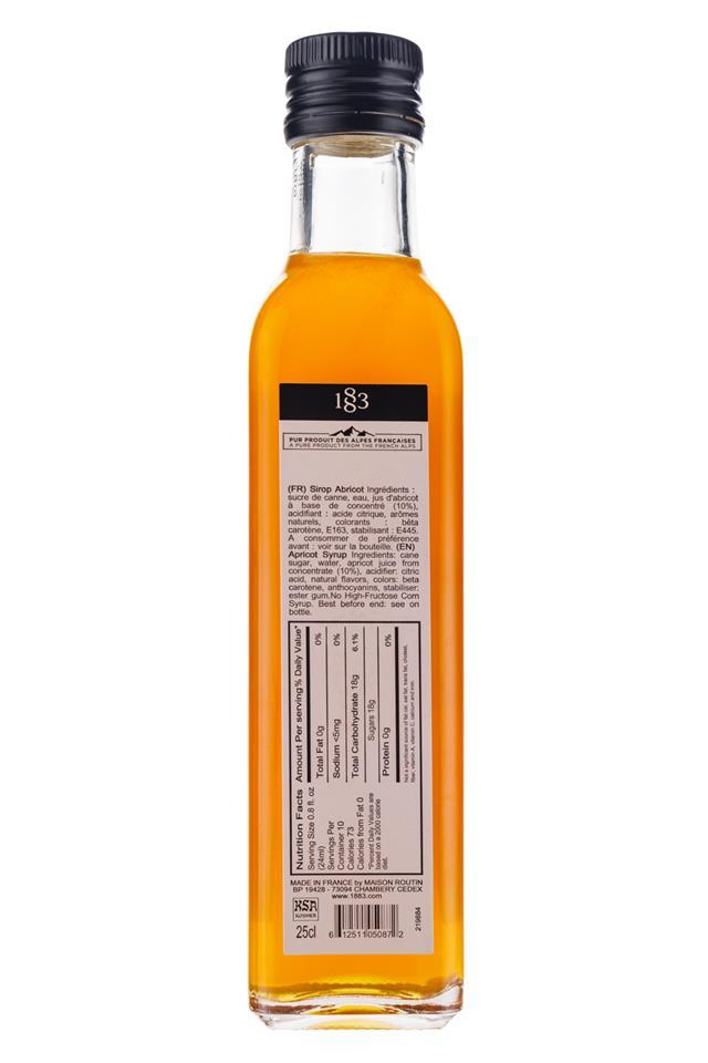 1883 Maison Routin: MaisonRoutinFrance-Apricot-Facts