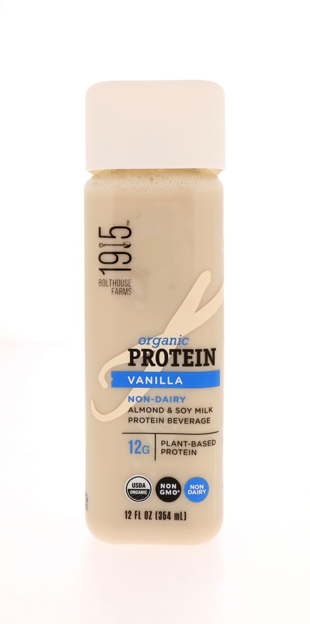 1915 Organic Protein: BF1915_Vanilla Front