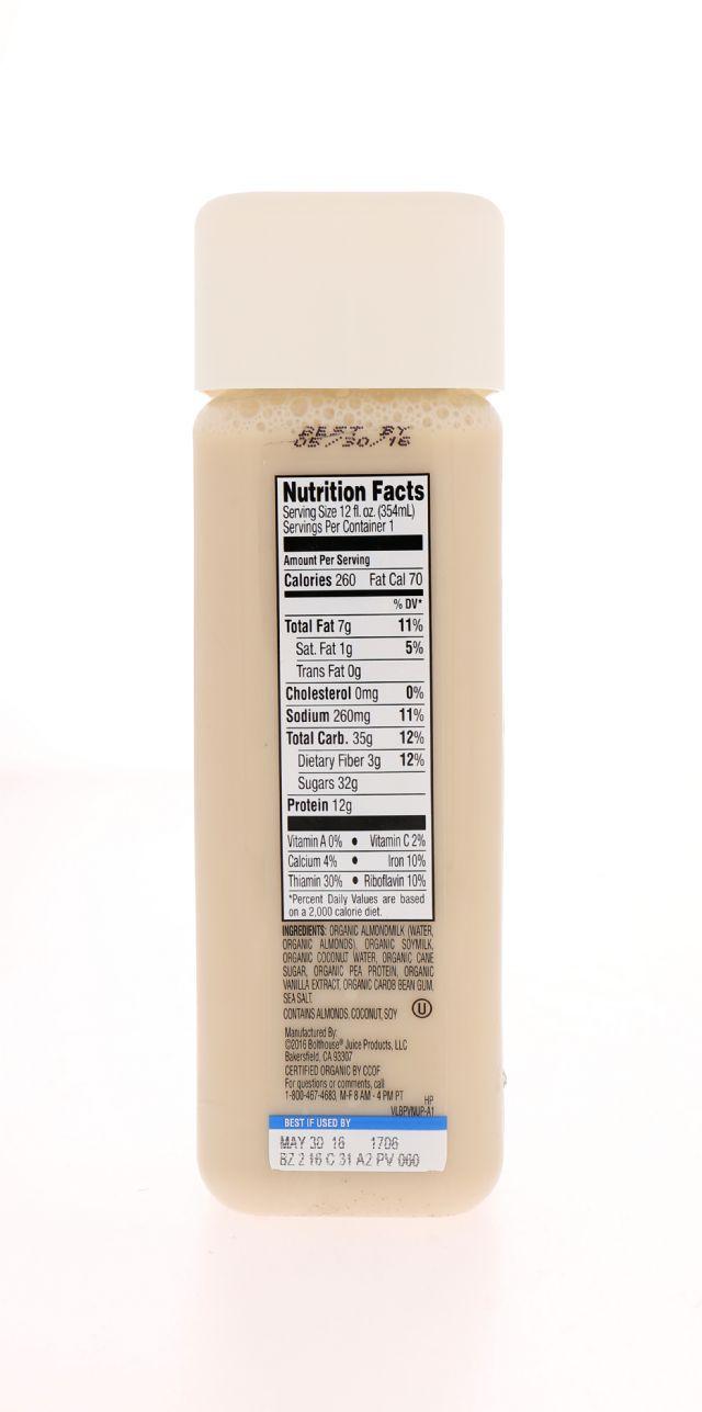 1915 Organic Protein: BF1915_Vanilla Facts