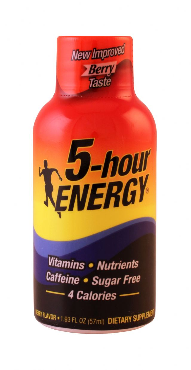 5-hour Energy: 5Hour BerryNormal Front