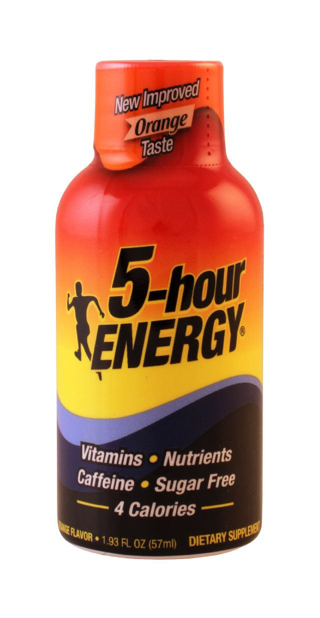 5-hour Energy: 5Hour Orange Front