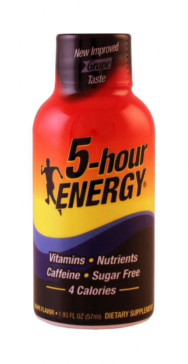 5-hour Energy: 5Hour Grape Front