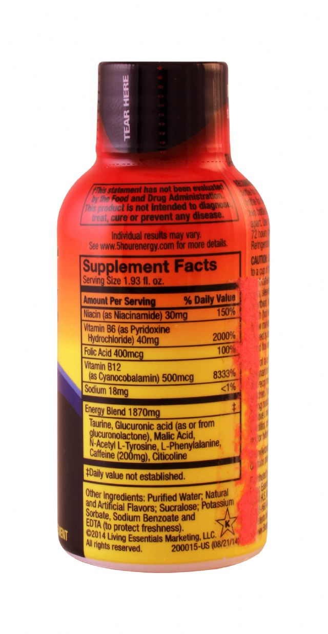 5-hour Energy: 5Hour Grape Facts