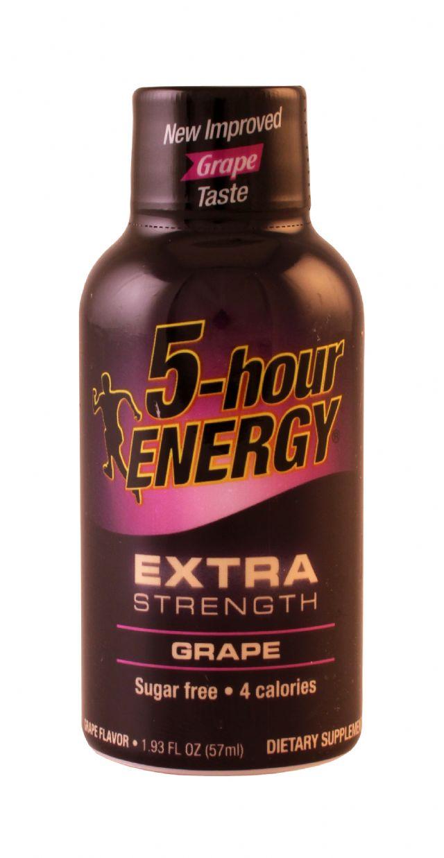 5-hour Energy: 5Hour ExtraGrape Front