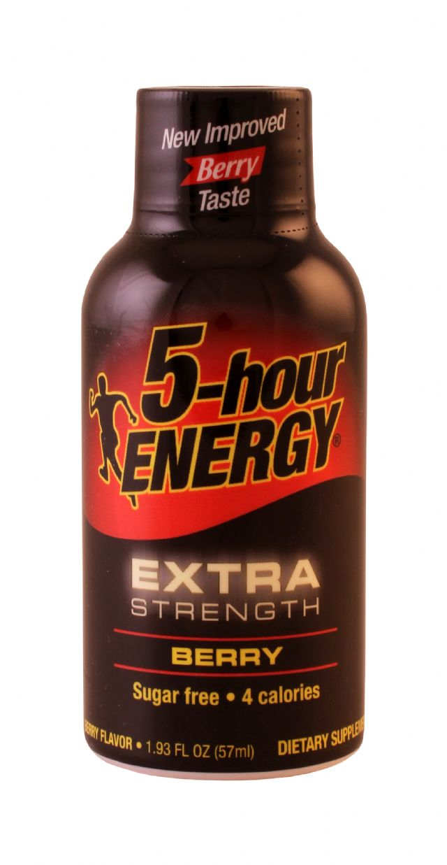 5-hour Energy: 5Hour Berry Front