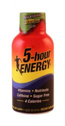 5-hour Energy: 5Hour CitrusLime Front