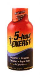 5-hour Energy: 5Hour Orange Front
