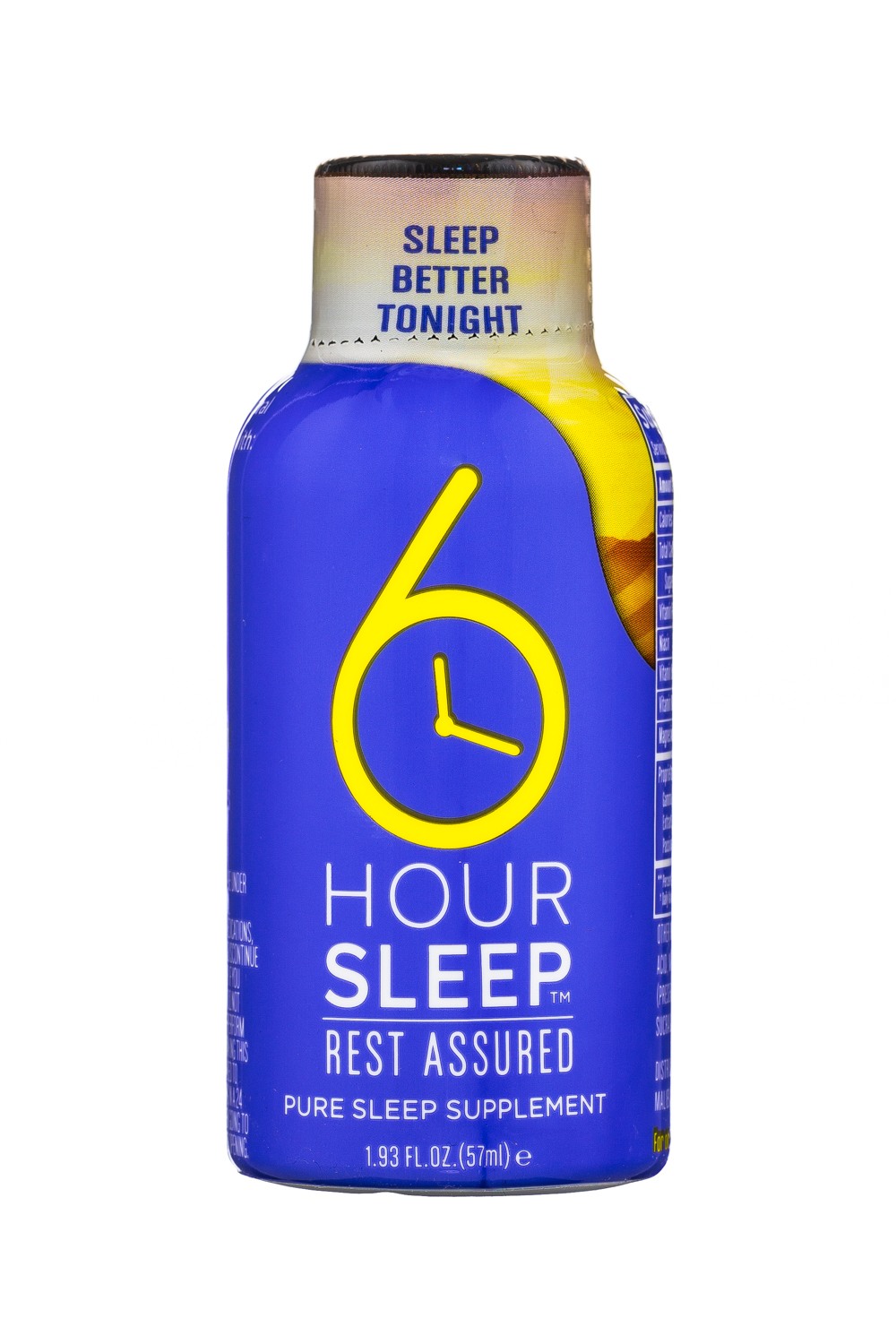 6 Hour Sleep: SeekPhysis-2oz-6HourSleep-Front