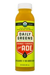 Orange-Turmeric: Green Ade