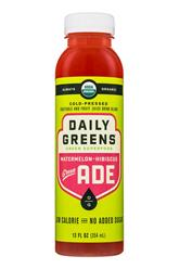 Watermelon-Hibiscus: Green Ade