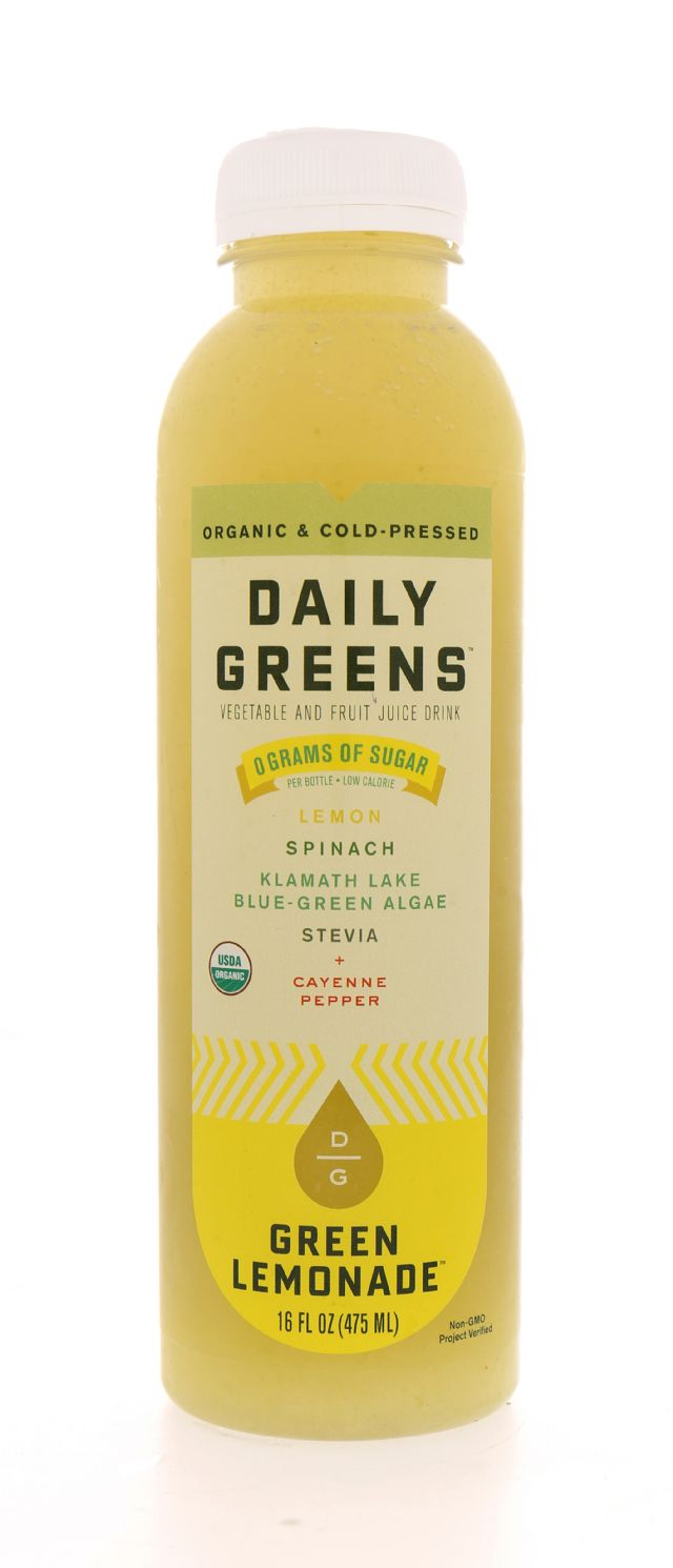 Daily Greens: DailyGreens GreenLemLG Front