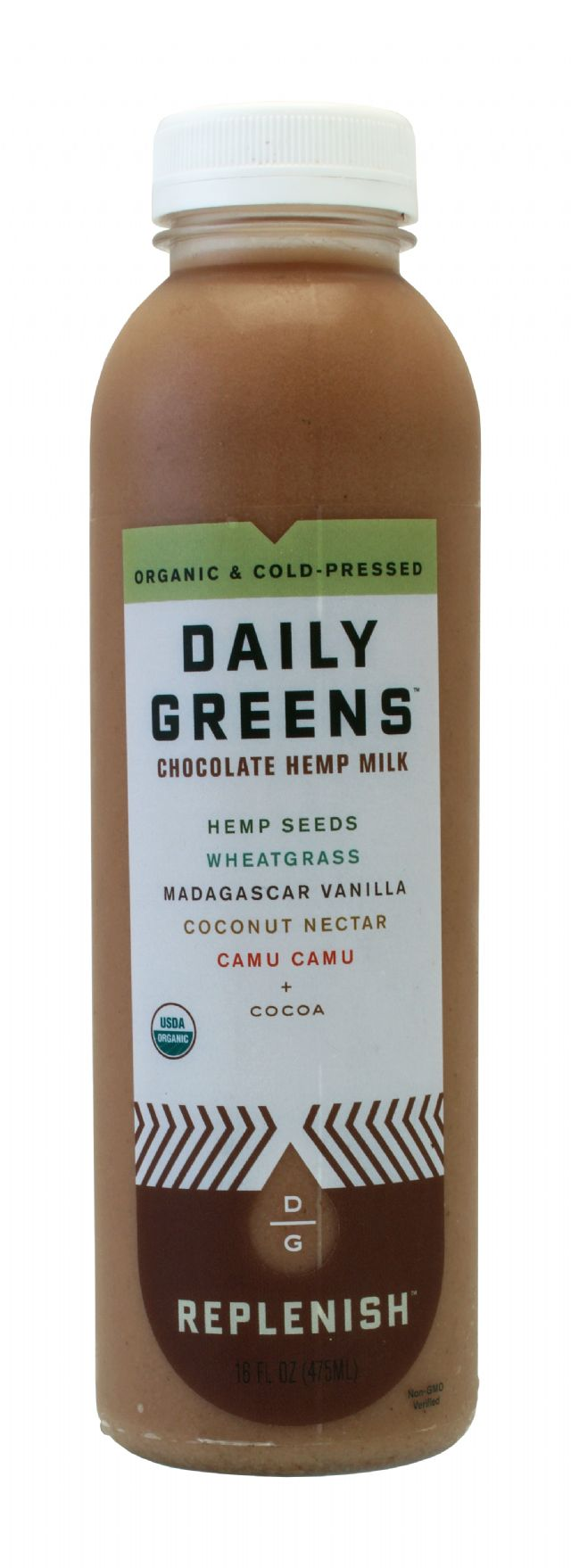 Daily Greens: DailyGreens ChocoHemp Front