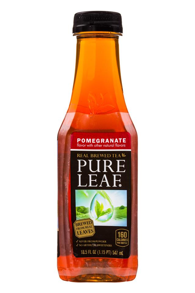 Pure Leaf: PureLeaf-RealTea-18oz-Pomegranate-Front