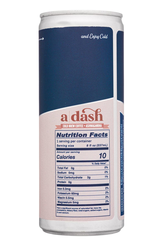a  dash: ADash-8oz-2021-Coffee-Balance-Facts