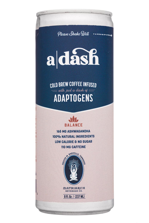 a  dash: ADash-8oz-2021-Coffee-Balance-Front