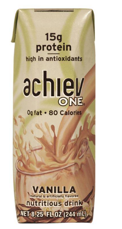 achievONE: NEW! achievONE Vanilla Nutritional Beverage