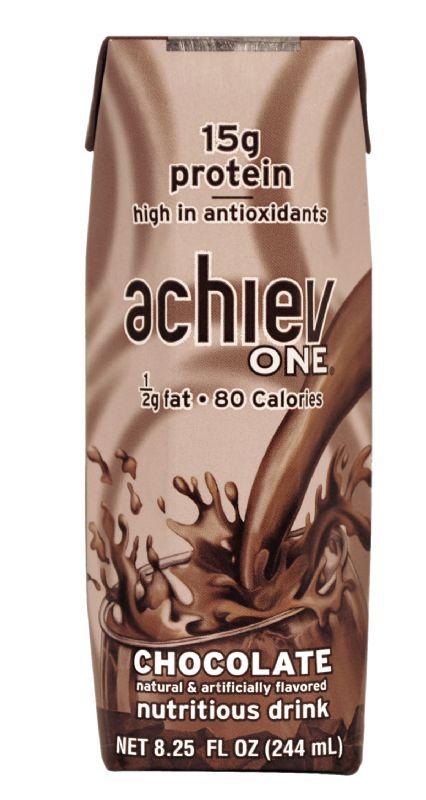 achievONE: NEW! achievONE Chocolate Nutritional Beverage