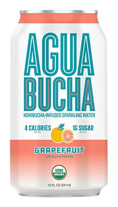 Agua Bucha: Agua-Bucha_Grapefruit