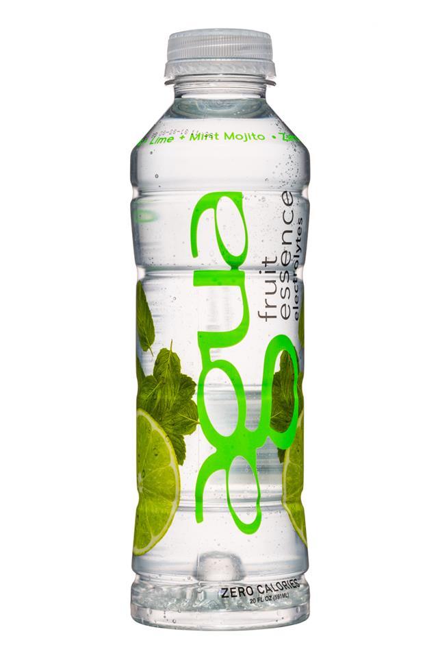 Agua Fruit Essence: Agua-FruitEssence-20oz-MintMojito-Front