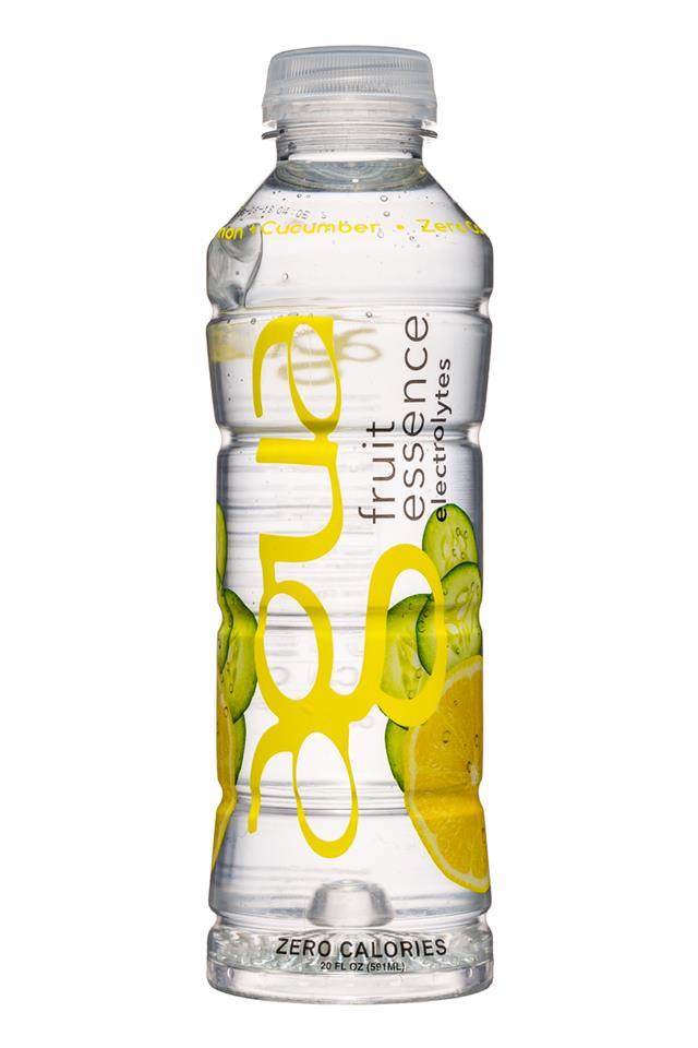 Agua Fruit Essence: Agua-FruitEssence-20oz-Cucumber-Front