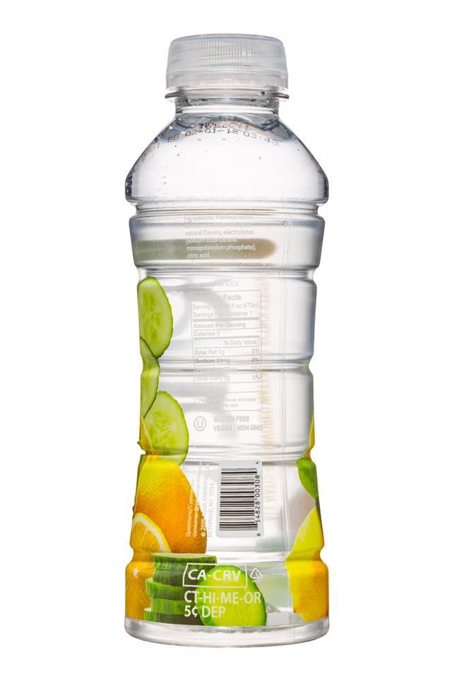 Agua Fruit Essence: Agua-FruitEssence-16oz-LemonCucumber-Facts