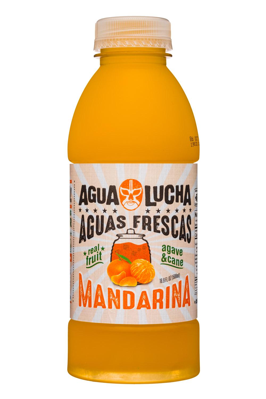 Agua Lucha: AquaLucha-17-AguaFrescas-Mandarina-Front