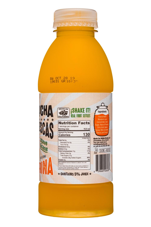 Agua Lucha: AquaLucha-17-AguaFrescas-Mandarina-Facts
