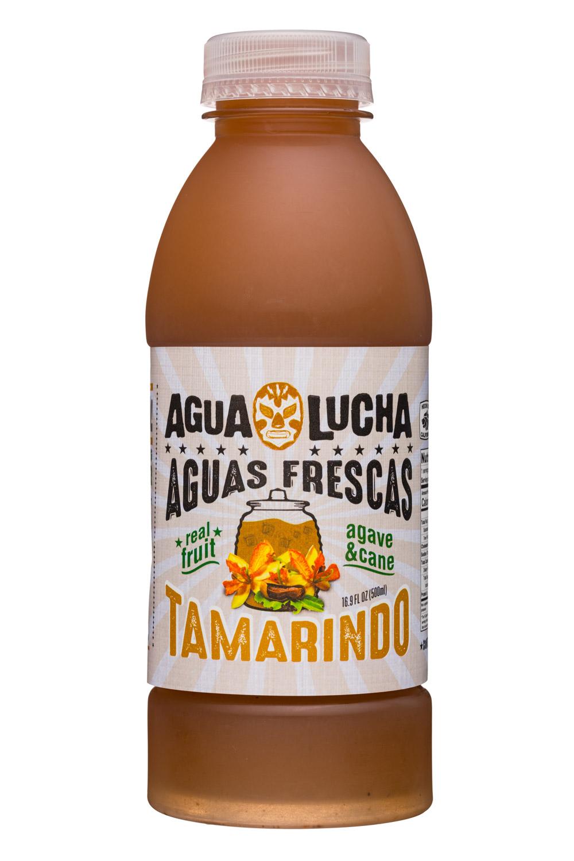 Agua Lucha: AquaLucha-17-AguaFrescas-Tamarindo-Front