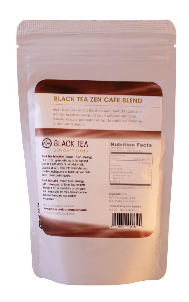 Aiya Zen Cafe Blends: Aiya BlackTea Facts