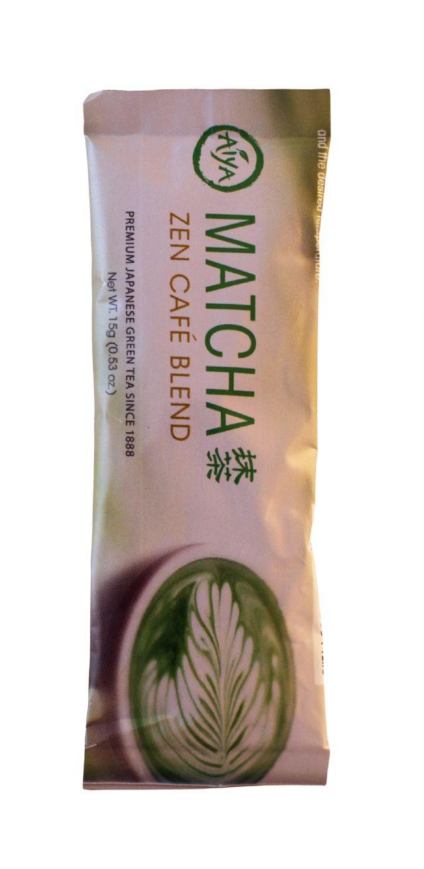 Aiya Zen Cafe Blends: Aiya Matcha Front