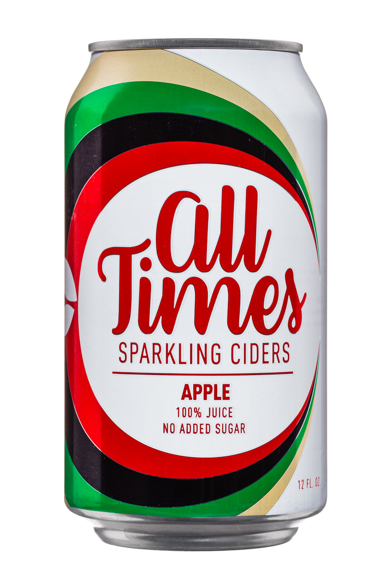 All Times: AllTimes-12oz-Cider-Apple-Front