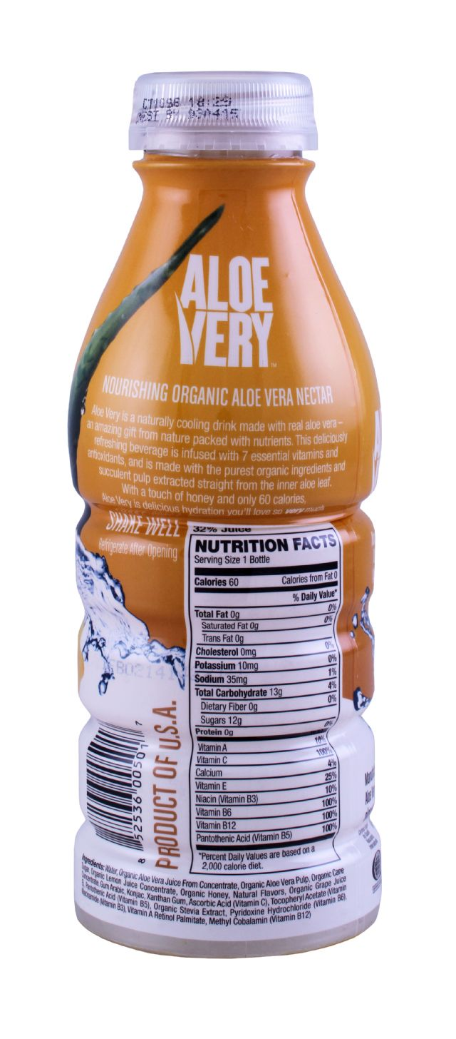 Aloe Very: AloeVery Lemonade Facts