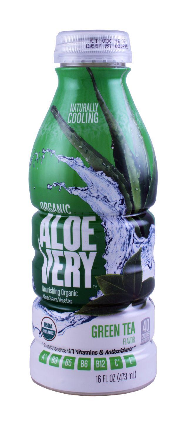 Aloe Very: AloeVery GreenTea Front