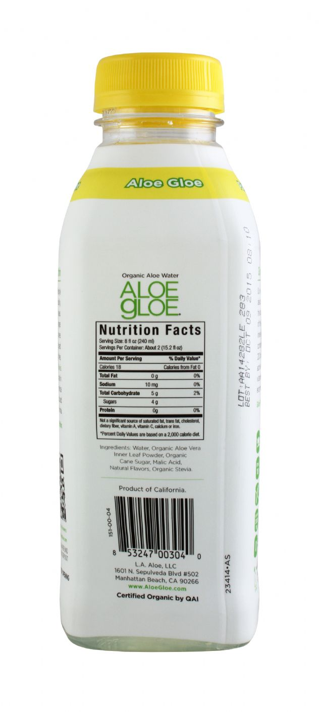 Aloe Gloe: AloeGloe Lem Facts