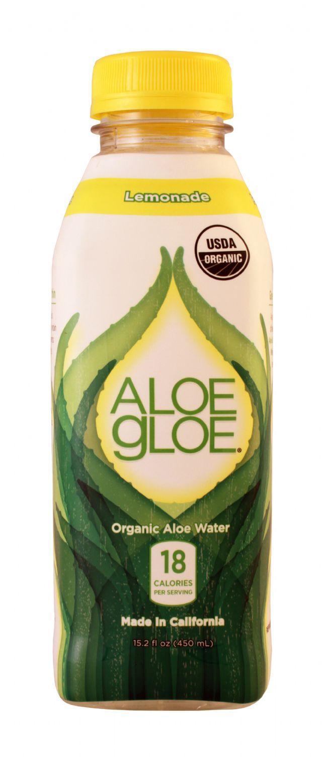 Aloe Gloe: AloeGloe Lem Front