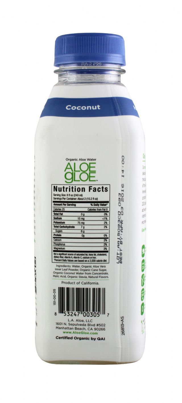 Aloe Gloe: AloeGloe Coconut Facts