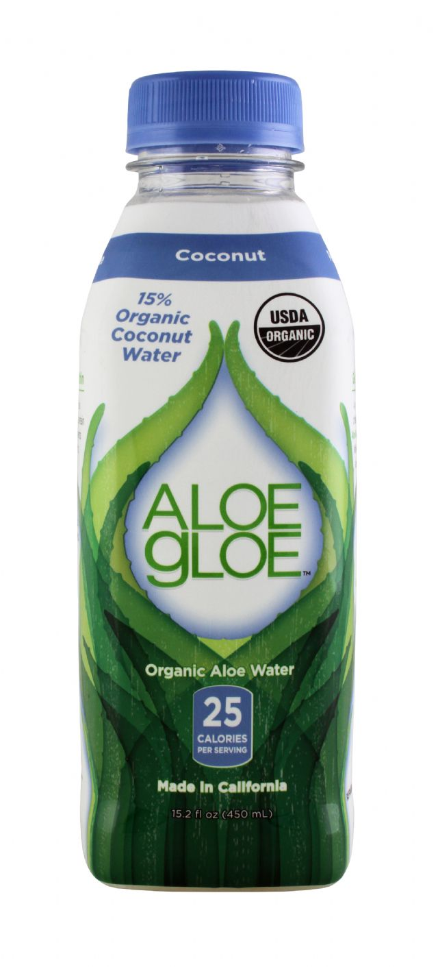 Aloe Gloe: AloeGloe Coconut Front