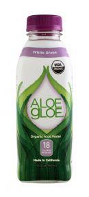 Aloe Gloe: AloeGloe WhiteGrape Front