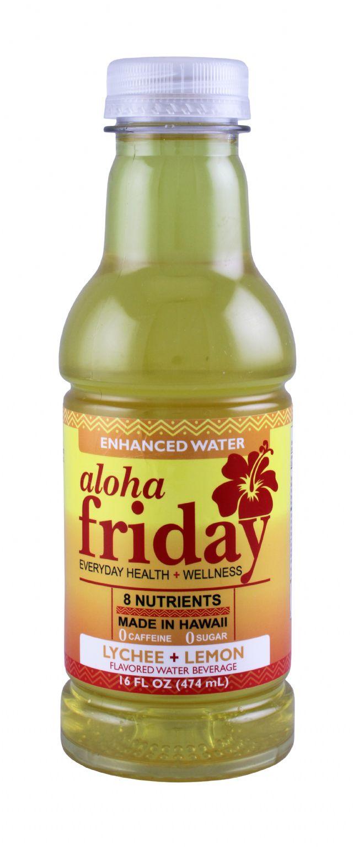 Aloha Friday: AlohaFriday LycheeLemon Front
