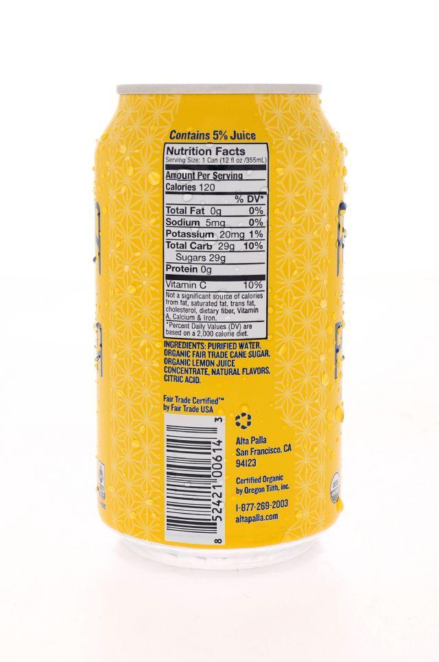 Alta Palla: AltaPalla Lemon Facts