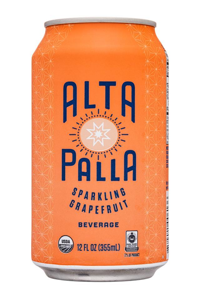 Alta Palla: AltaPalla-12oz-Sparkling-Grapefruit-Front