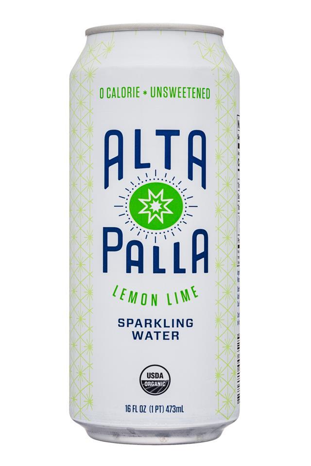 Alta Palla: AltaPalla-16oz-SparklingWater-LemonLime-Front