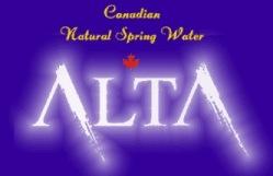 Alta Spring Water