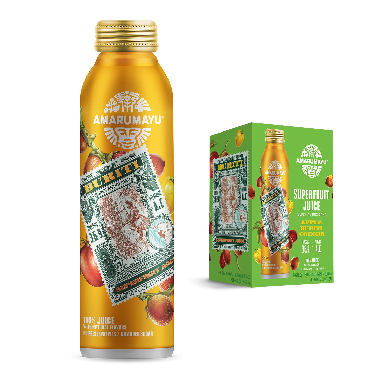 AMARUMAYU Superfruit Juices : Photo of Apple, Buriti, Cocona - AMARUMAYU Superfruit Juices  (uploaded by company)