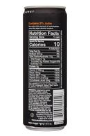 Ambition Beverages: Ambition-12oz-EnergyDrink-Orange-Facts