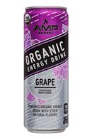 AMP Energy Organic: Amp-Energy-12oz-Grape-Front