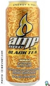 Amp Energy with Black Tea (2009)